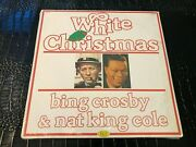 Sealed 1981 Bing Crosby White Christmas And Nat King Cole Lp Joker Records Album