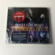 New Stages Live By Josh Groban Target Limited Edition 3 Bonus Tracks Cd And Dvd