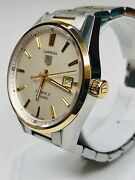 Tag Heuer Carrera Calibre 18k Yellow Gold And Stainless Steel Ref. War215b