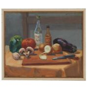 Lois Foley American 1936 - 2000 Still Life Oil Painting 1975