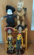 Disney Toy Story Young Epoch Roundup Woody Jessie Set Doll 1