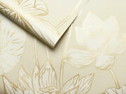 Peel And Stick Floral Self Adhesive Removable Wallpaper- 20.5 W X 18' L Roll