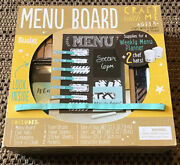 Craft With Me - Menu Board Supplies For Weekly Menu Planner 2 Chef Hats Included