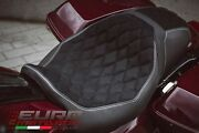 Harley Davidson Road+street Glide 2011-2020 Luimoto Hex-diamond Suede Seat Cover
