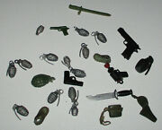 Unknown Maker 1970s-1980s Army Accessories For 5 Or 6 Inch Soldier