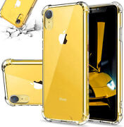 Iphone 11 Pro 7 8 Plus X Xr Xs Max Se 2nd Hybrid Shockproof Thin Clear Tpu Case