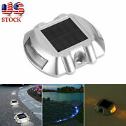 Waterproof Solar Led Light Driveway Road Stud Path Step Dock Outdoor Lamp 5color