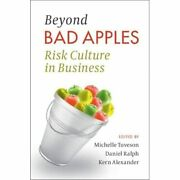 Beyond Bad Apples Risk Culture In Business - Paperback / Softback New Tuveson