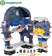 Fisher Price - Imaginext Dc Super Friends Super Surround Batcave [new Toy] Fig