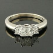 Solid 14k Gold And 1.07 Cttw Leo Diamond Engagement Wedding Anniversary Ring