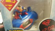 Superman Projection Clock Gently-used Alarm Clock Projects Time And Superman Logo.