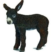 Pitou Donkey Foal By Schleich/ Toy/ Farm Animals/ 13686 / Retired/ New With Tag