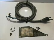 Hobart 1612 Meat Slicer Wiring Harness Power Cord With Cover Plate And Hardware