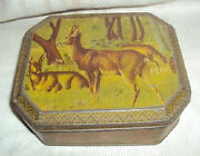 Vintage Fancy India Sweet Container Tin Litho Box Rare Collectible Item 1960