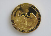 1974 Franklin Mint History Of Mankind Agriculture Silver Art Medal P0099