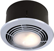 Broan-nutone 9093wh Exhaust Fan, Heater, And Light Combo, Bathroom Ceiling Hea