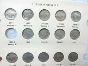 Buffalo Nickel Set Complete 1913-1938 63 Coins Q3