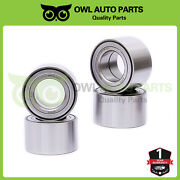 4pcs For Yamaha Yfm660 660 Grizzly Front And Rear Wheel Bearings 2003-2008