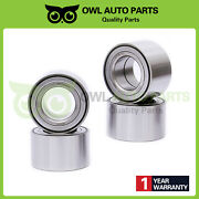 4x Front And Rear Wheel Bearings For Arctic Cat Atv 1000 400 450 500 550 650 700