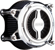 Vance And Hines Chrome Vo2 Blade Air Cleaner Filter Kit 17-20 Harley Touring Cvo