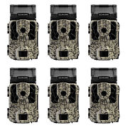 Spypoint Solar-dark 12mp Invisible Ir Video Hunting Game Trail Camera 6 Pack