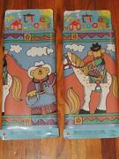Lot Of 2 Norwall Little Rooms Wallpaper Border Western Horses Animated 10 X 5yd