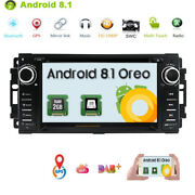 Android 8.1 Car Stereo Radio Dvd Player Gps Navigation For Jeep Patriot Liberty