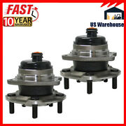 2 Rear Wheel Hub Bearing For 2wd 2001-2007 Dodge Grand Caravan Town And Country
