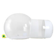 Inflatable Commercial Grade One Room Pvc Clear Eco Dome Camp Bubble Tent +blower