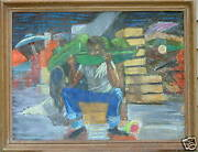 Lucy Brown Land039engle New Orleans African American Watermelon Man Woman Artist