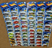 Vintage Mattel Hot Wheels 2002 First Edition Full Set With Variants Lot Of 57