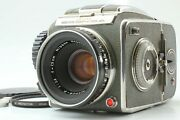 【near Mint】 Zenza Bronica D Delux + Nikkor P 75mm 7.5cm F2.8 From Japan 661