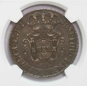 Ngc-xf40 1770 Angola 12macutas Silver Toned Only Two Finer