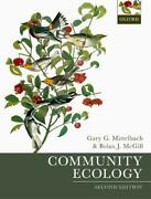 Community Ecology By Mittelbach Mcgill New 9780198835868 Fast Free Shipping..