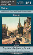 Oxford Cassini Historical Map, Revised New Series In Colour, 1896-1904 By