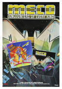 Star Wars ☆ Meco Disco Funk ⌦store Display Movie Poster ☆ 1978 Rolled Original