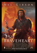 Braveheart ☆ And03995 Advance 4x6 Bus Stop Subway Transit Sun Shelter ☆ Movie Poster