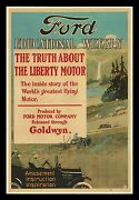 1919 Ford Educational Weekly ☆ Goldwyn Pictures Stone Litho 1-sheet ☆ Only Known