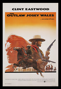 The Outlaw Josey Wales ☆ Rare Style 27x41 1-sheet Movie Poster ☆ Clint Eastwood