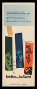 What Ever Happened To Baby Jane ☆ '62 Original 14x36 Movie Poster ☆ Best Image