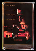 Unforgiven ☆ And03992 Advance 4x6 Bus Stop Subway Transit Sun Shelter ☆ Movie Poster