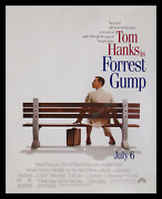 Forrest Gump ☆ Special 40x50 Out-of-home ☆ High-end Mall Advance Movie Poster