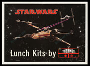 Star Wars 1977 ☆ Lunch Kits By Thermos ☆ Rare Lunch Box Advertising Only Poster