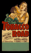 Tobacco Road ☆ John Ford ☆ Only Known 1941 Orig. ☆ 1-sheet Movie Poster Standee