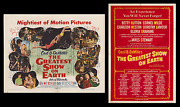 The Greatest Show On Earth ☆ Nss Posters ☆ Ringling Bros. Barnum And Bailey Circus
