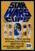 Star Wars Cups Frozen Coke Amazingly Rare And03977 Coca Cola Advertising Movie Poster