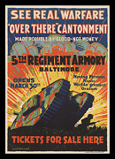 Ww I ☆ Moving Pictures ☆ 1-of-a-kind ☆ Lloyd Harrison Stone Litho ☆ Movie Poster