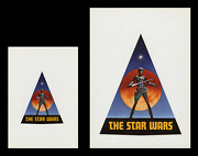 Star Wars ☆ 1976 Pre-release Ralph Mcquarrie Production Decal And Sticker Mint