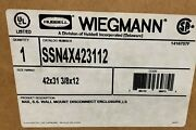 Ssn4x423112 Wiegmann And Co N4x S.s. Wall Mount Disconnect Enclosure , Ls