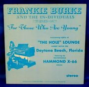 Rare Florida Breaks Lounge Lp Frankie Burke - For Those Who Are Young